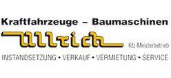 Willkommen bei Ullrich Kraftfahrzeuge – Baumaschinen